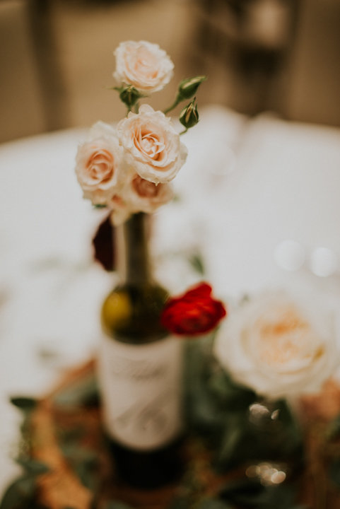 detail shot vail colorado wedding reception