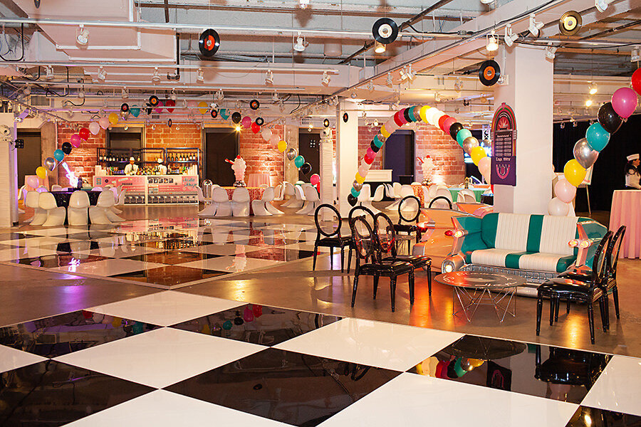 Pop Parties Corporate Event Planner Sock Hop Theme Party 2