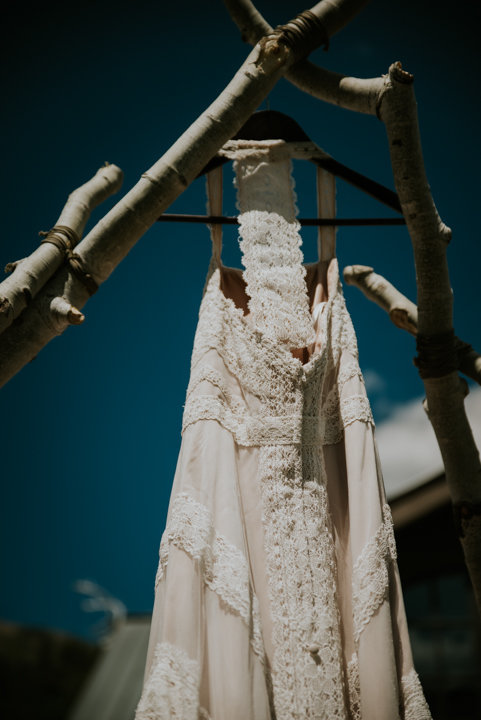 boho wedding dress, Marble Lodge on Beaver Lake Retreat Campus, marble colorado wedding photographer, marble colorado elopement photographer, colorado elopement photography