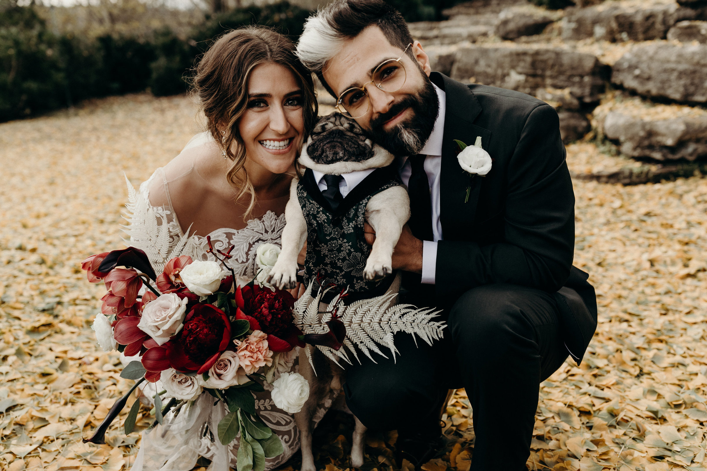 Leslie and Rob - Nashville Wedding with Doug the pug - Victoria Bonvicini-483