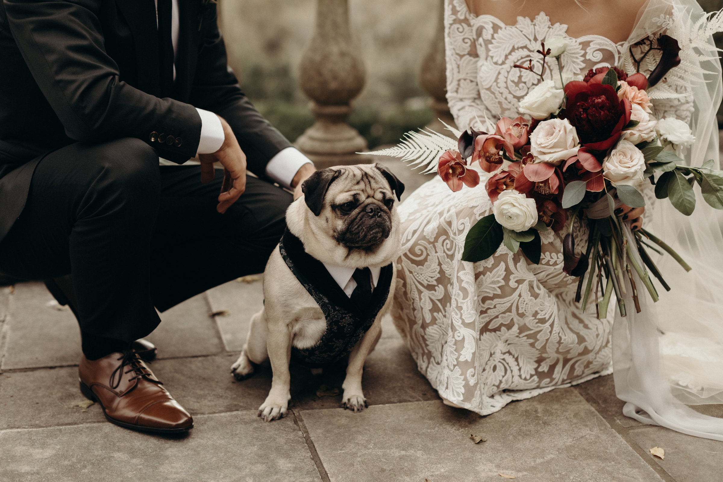 Leslie and Rob - Nashville Wedding with Doug the pug - Victoria Bonvicini-349