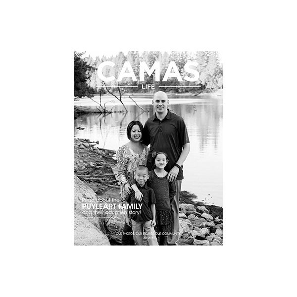 featured in camas life magazine