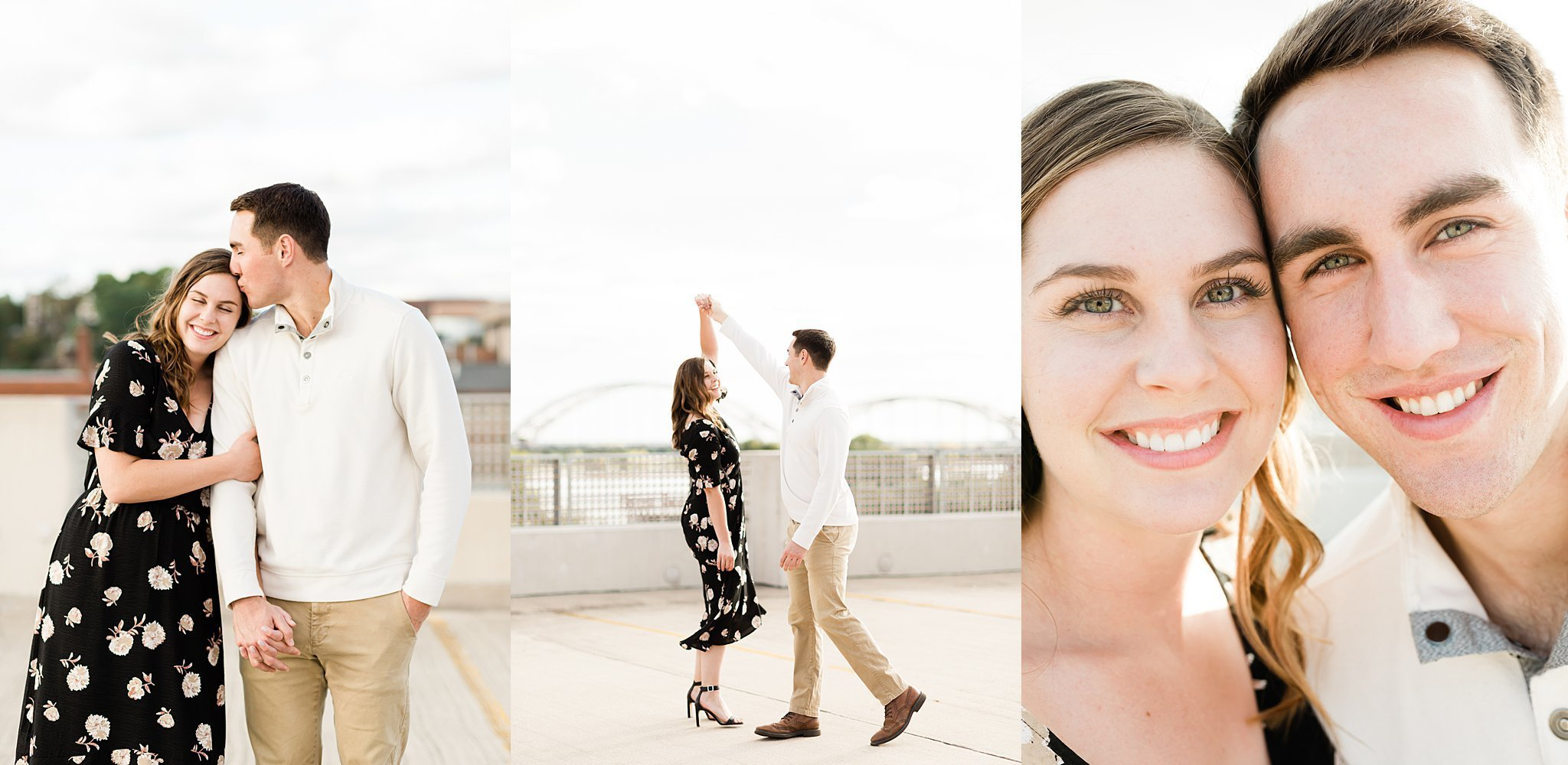 Quad Cities engagement photographer