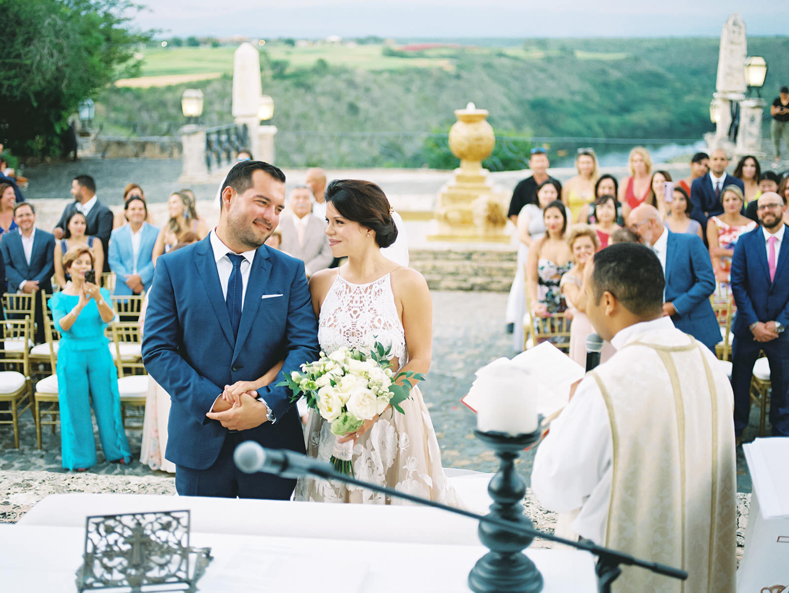 Wedding ceremony at Casa de Campo Resort & Villas
