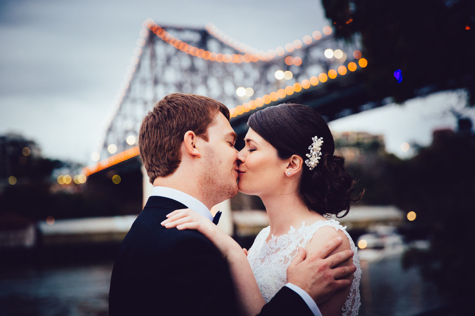 Dreamy Wedding Portraits Story Bridge Photography