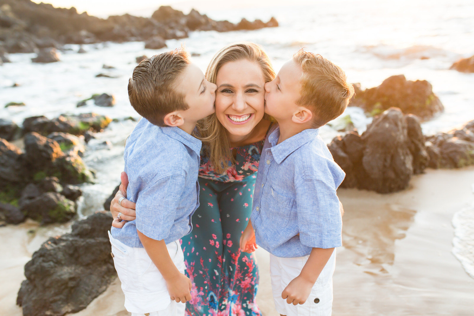 Maui family portraits by Maui family photographers Karma Hill Photography