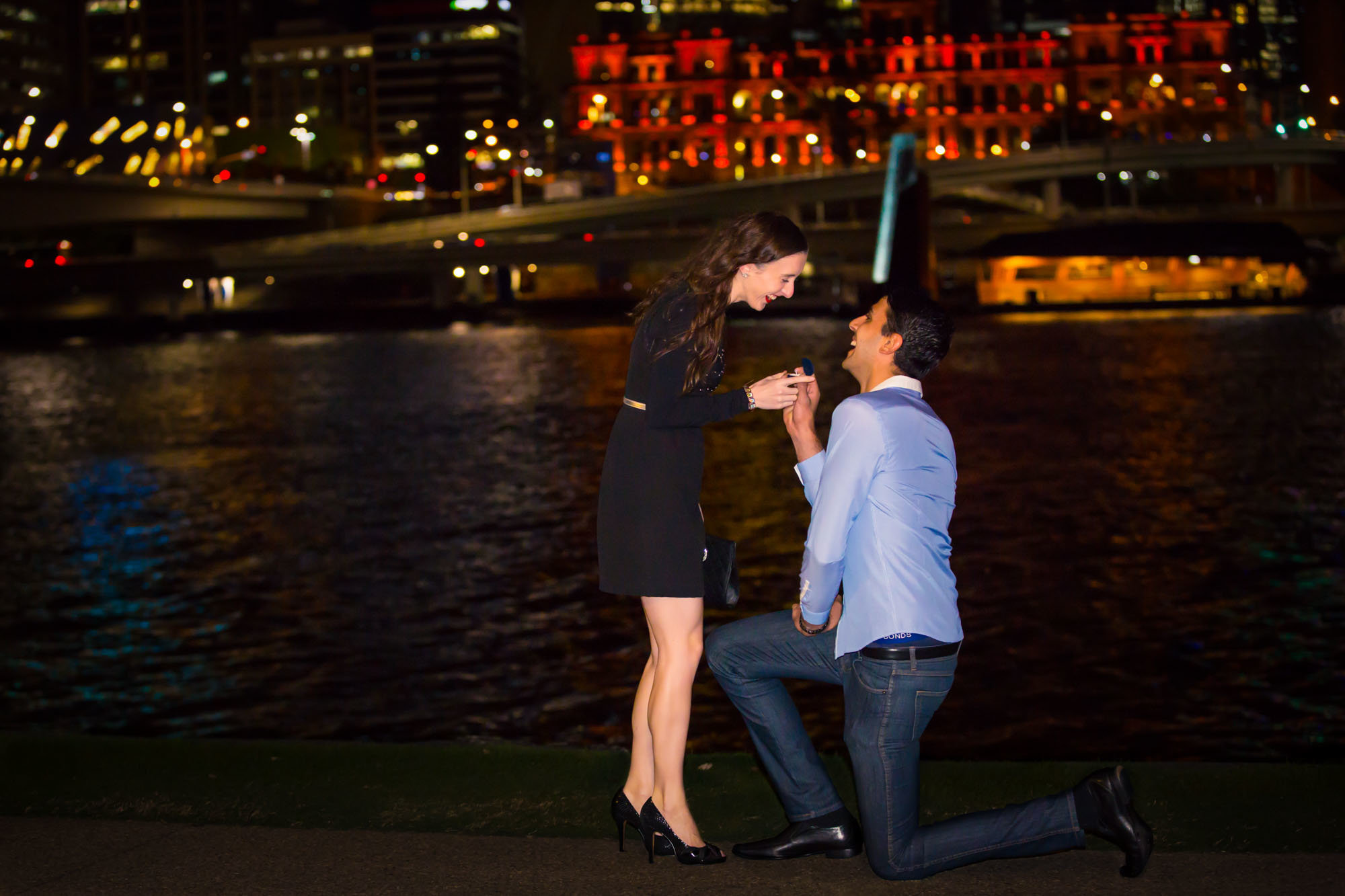 South Bank Proposal Photographer Anna Osetroff
