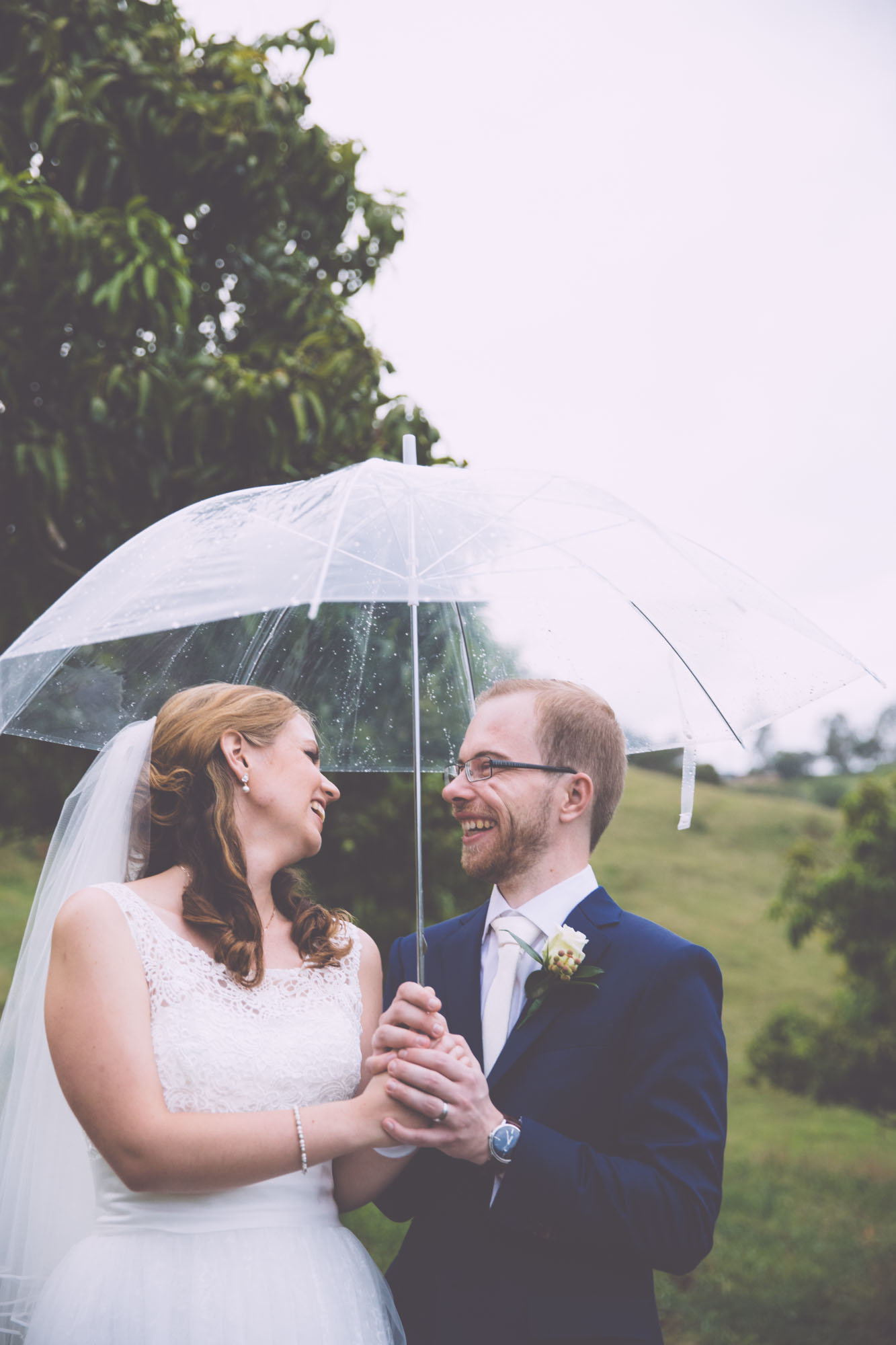 Rainy Wedding Day Photographs Anna Osetroff Laidley