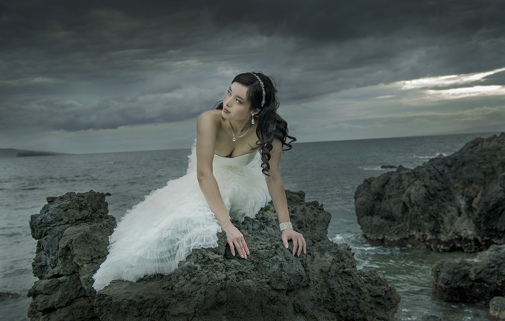Maui portraits on the beach