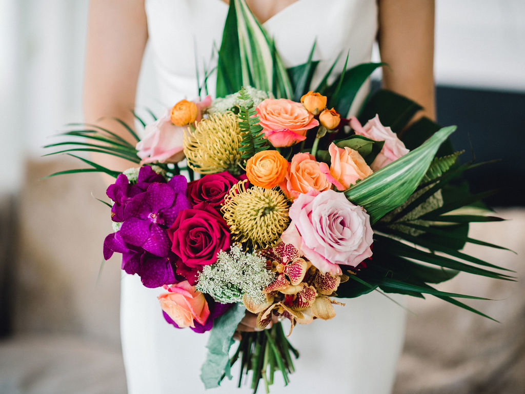 Bridal Bouquet Details Wedding Inspiration
