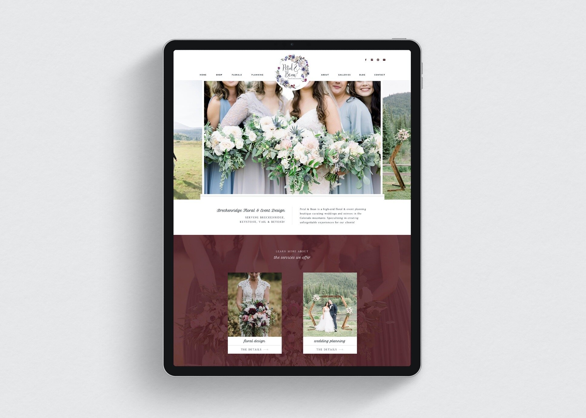 Petal-and-Bean-Website-Design