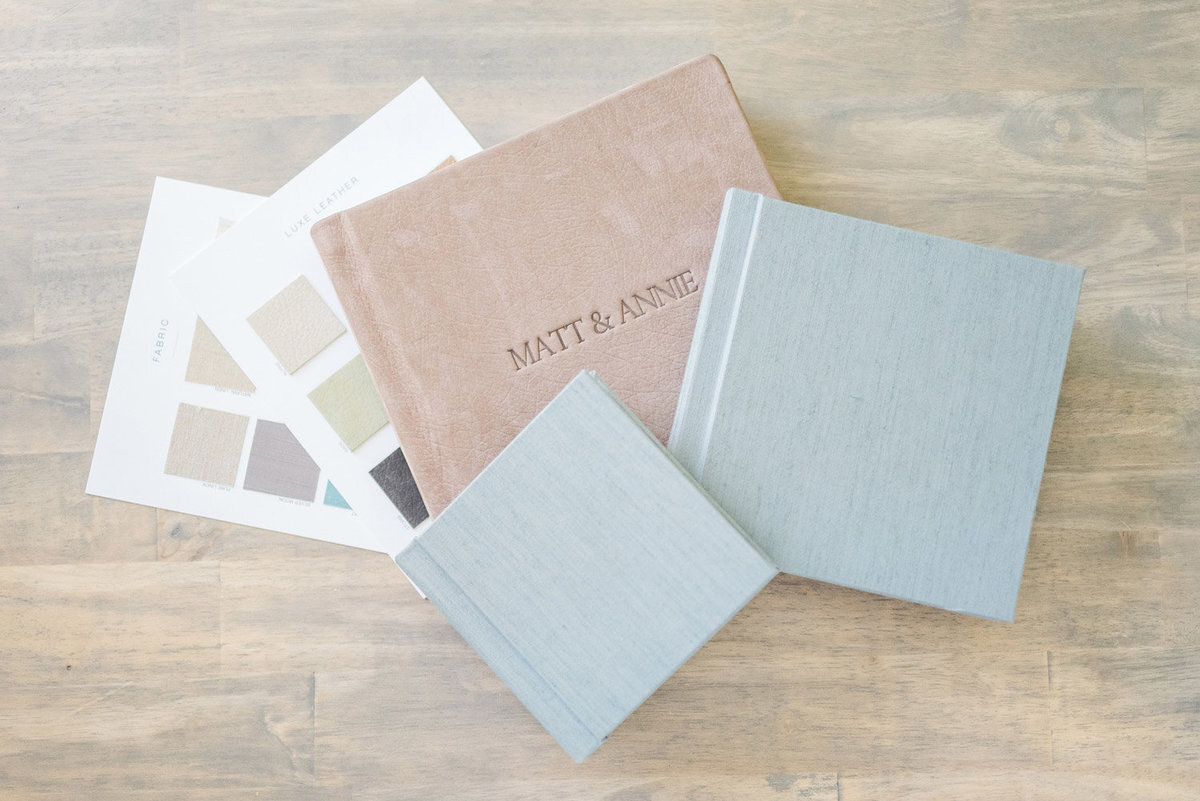 Album Flat Lay Products Officered