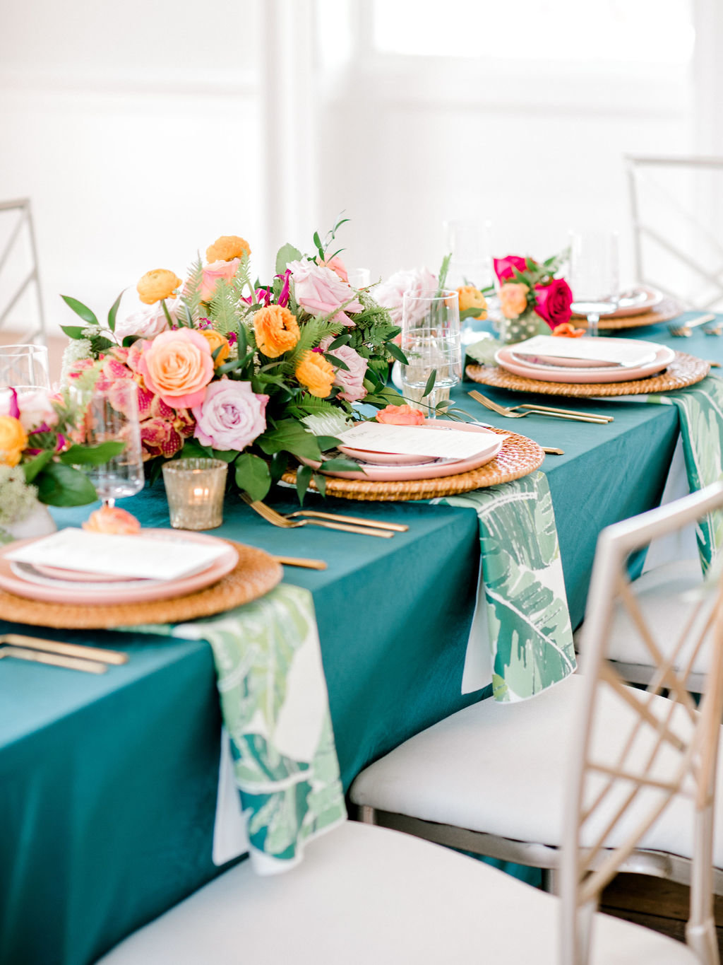Bold Tropical Wedding Theme Garibaldi Cafe Savannah