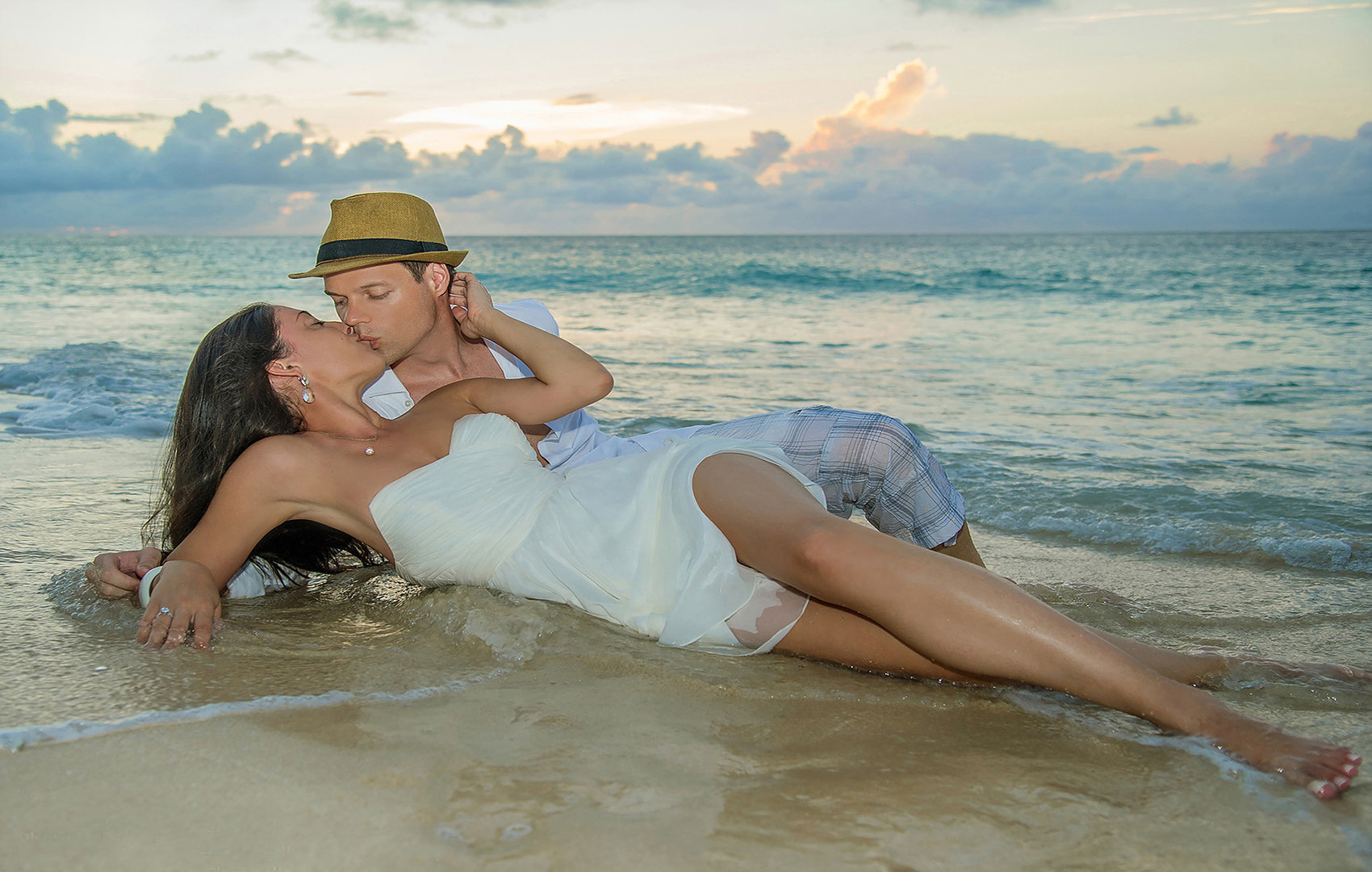 Fashion photographers on Maui