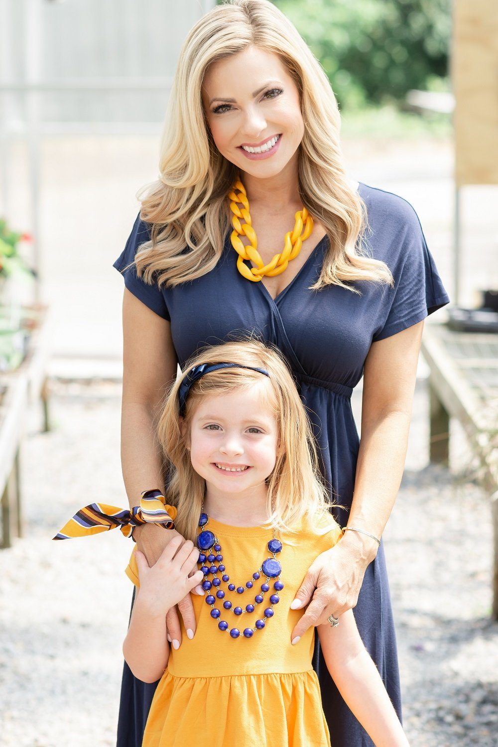 Amy Lutz and Her Daughter Addison