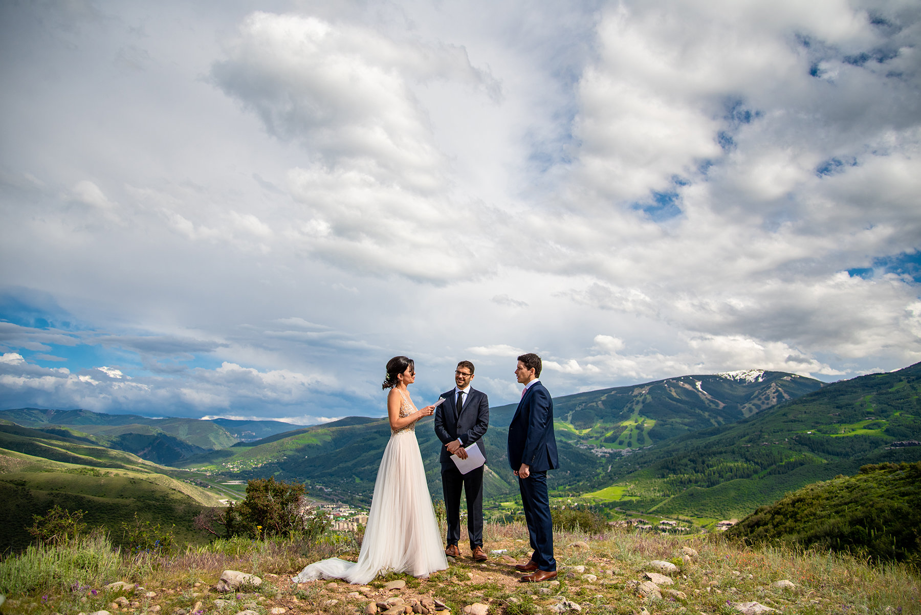 vail elopement photographer in colorado