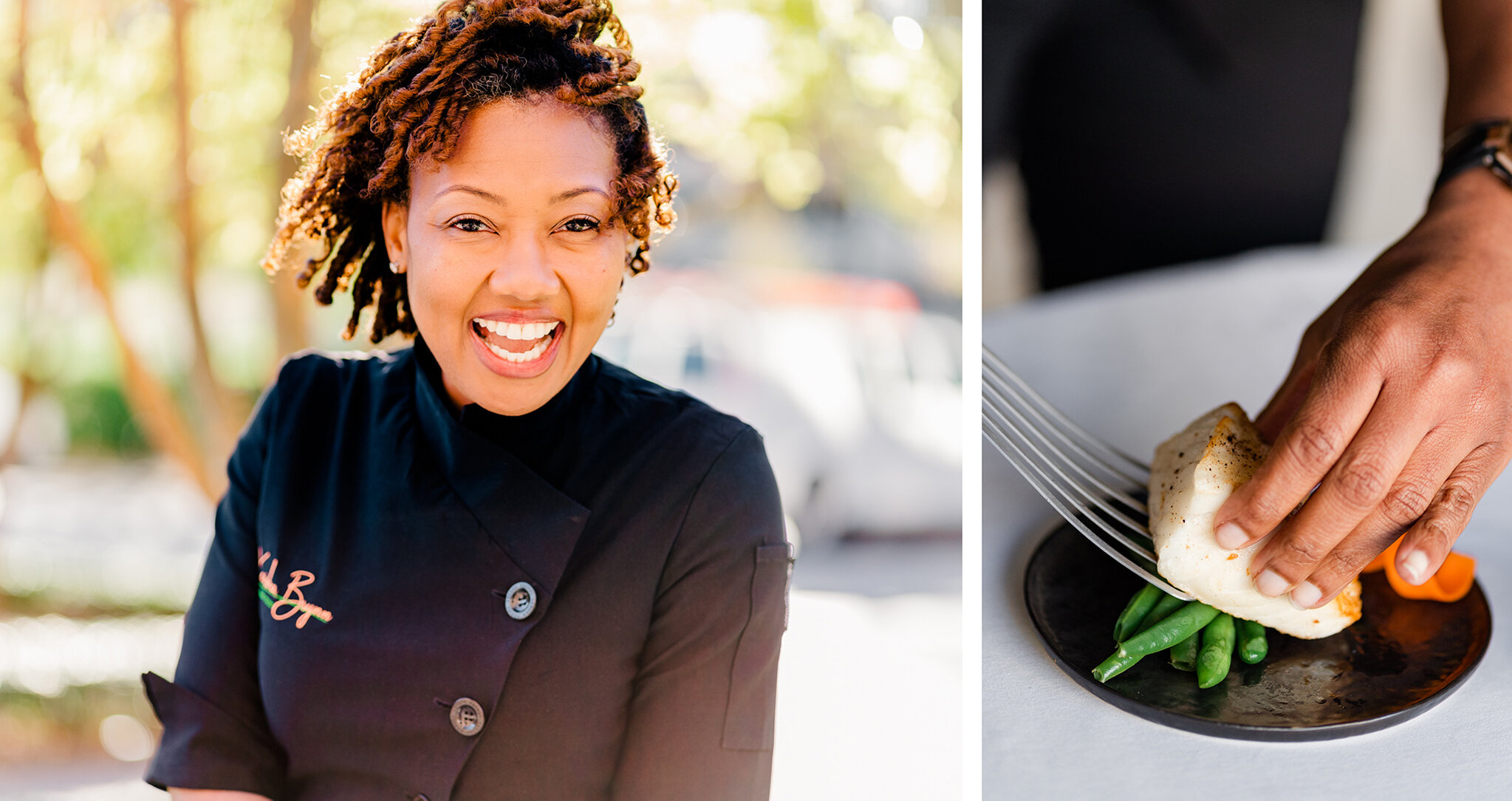 personalized branding photography of chefs and culinary professions, including behind the scenes, plating, and headshots for your company