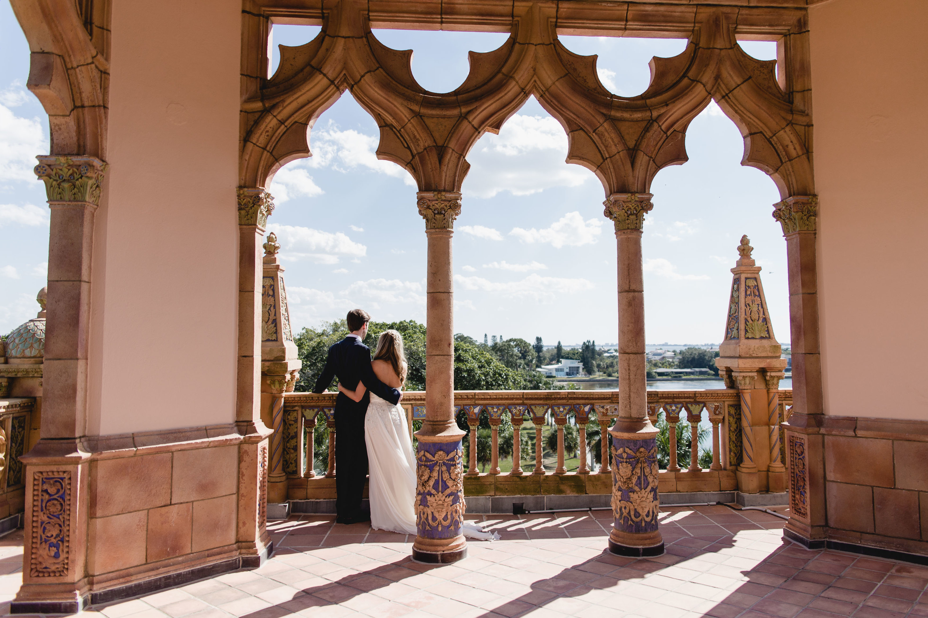 ringling museum wedding at ca d'zan