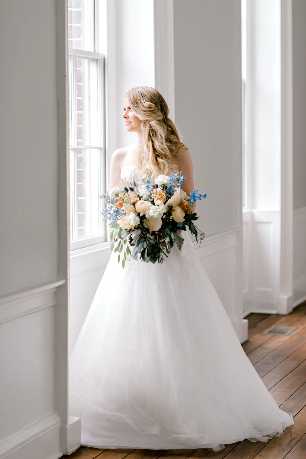 Luxury Florals Designer Bridal Gown Savannah Georgia