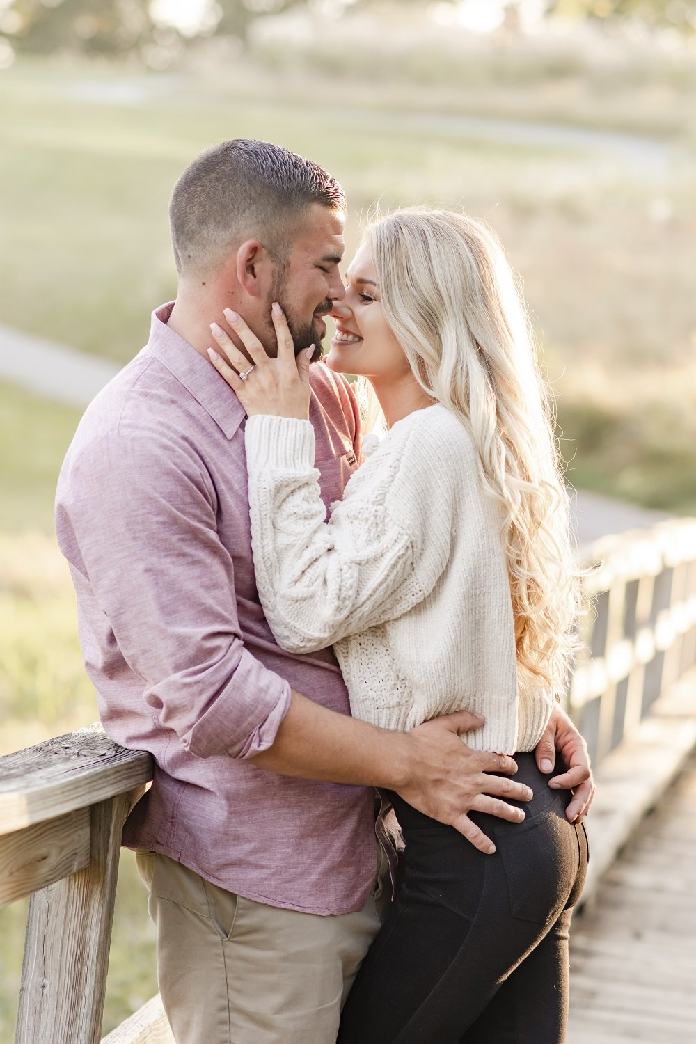 Engagement Session at Greystone Golf Course