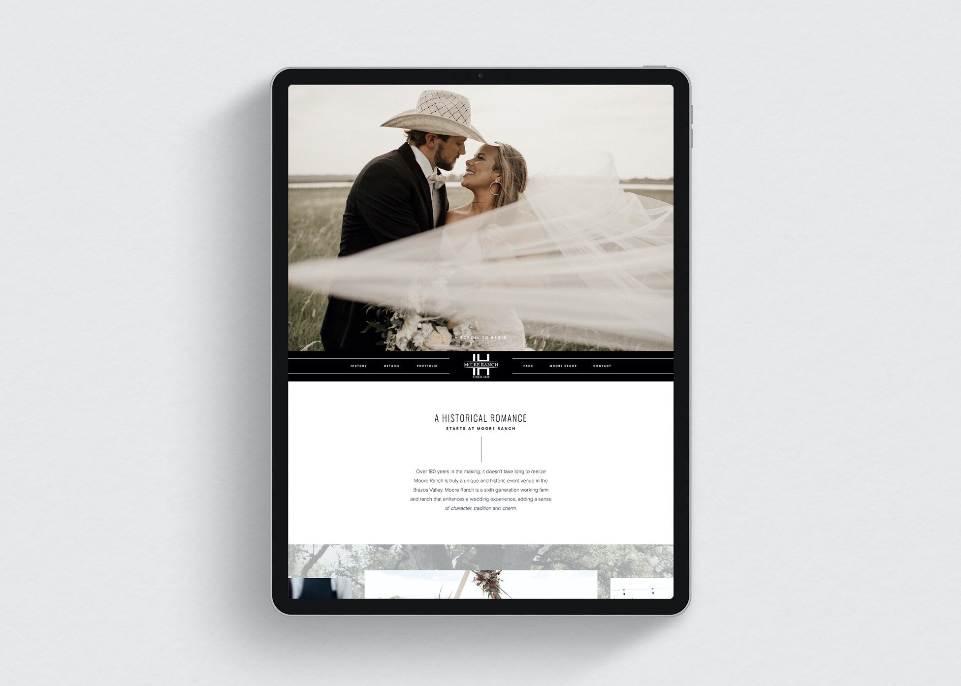 Moore-Ranch-Website-Design