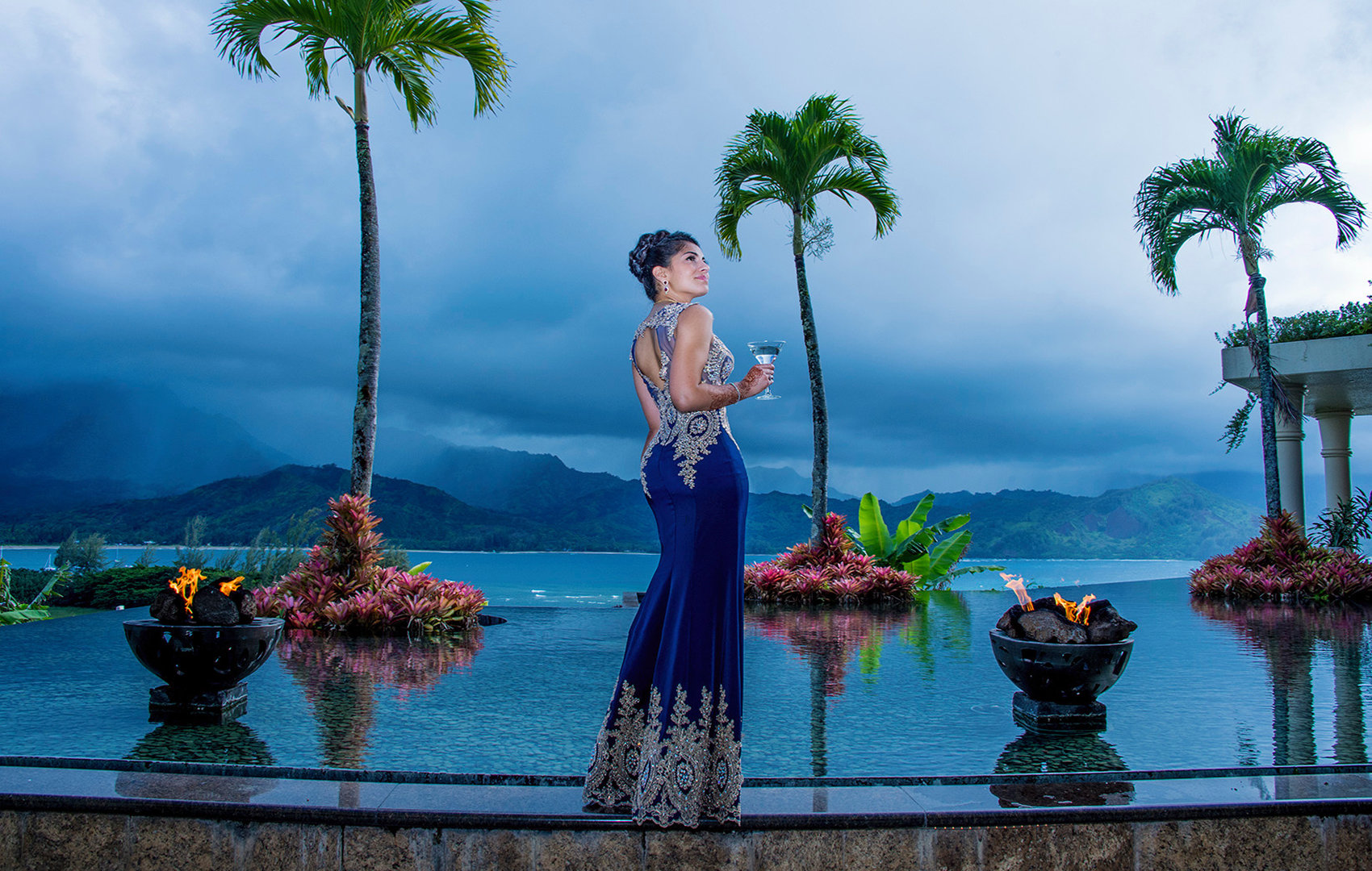Oahu senior portrait photographers