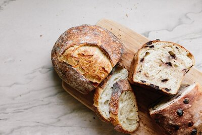 Sourdough Bread Food Photography