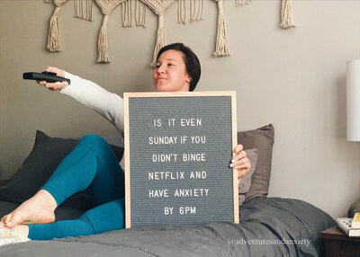 Sunday Scaries | Adventures & Anxiety Mental Health Blog