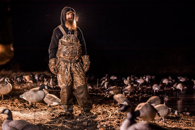 Central kansas goose  hunting fowl plains