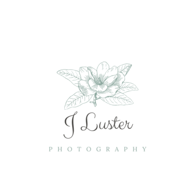 White and Grey Laurel Hipster Logo