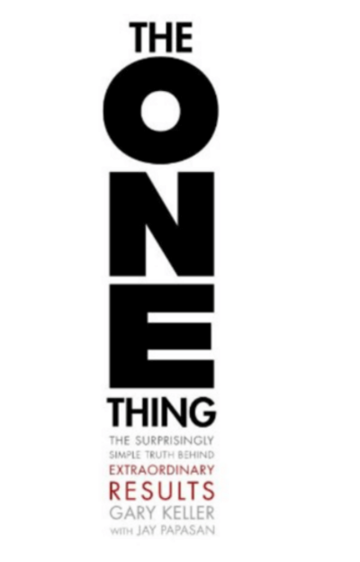The One thing | Positively Jane