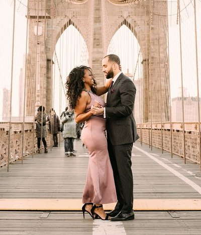 Brooklyn Bride Engagement Shoot