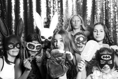 black and white photos of a bat mitzbah