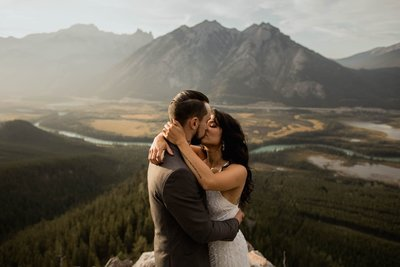 Banff Adventure Elopement Photographers
