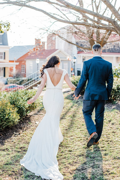 Downtown Annapolis, Maryland wedding