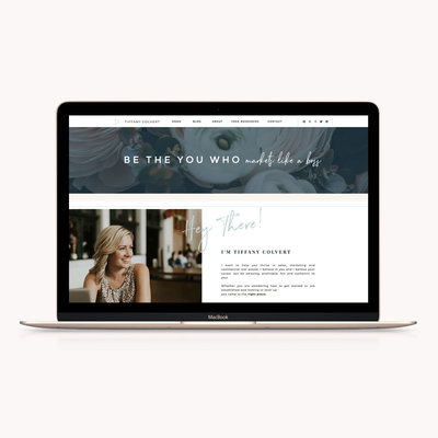 Handcrafting Heartfelt Brand & Website Designs for Female Creatives |  Showit | Showit Templates | by Viva la Violet | Bonjour Nanny