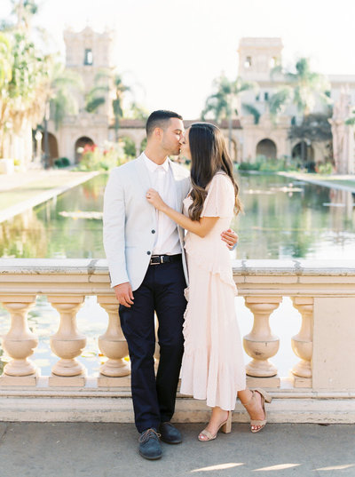 balboa park engagement session