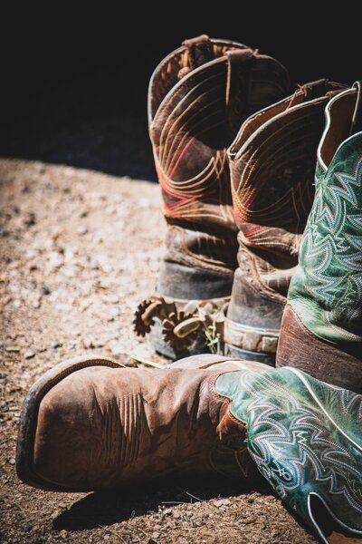 Image of cowboy boots by Jon Sailer