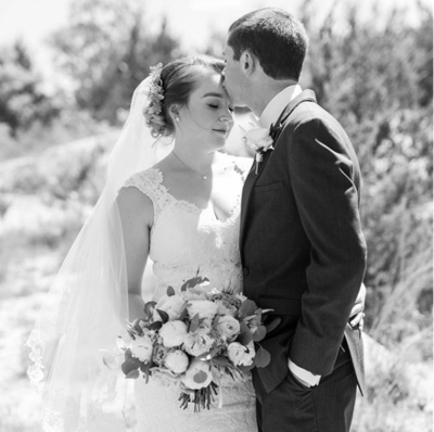 Photo by North Texas wedding photographer Michele Shore