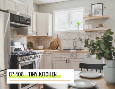 tiny kitchen makeover