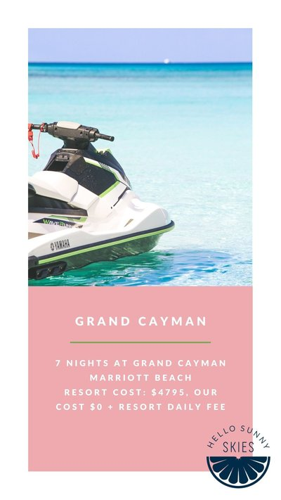 All the details about our affordable family vacation to Grand Cayman..