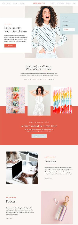Shop Showit Website Templates For Creatives Tonic Site Shop