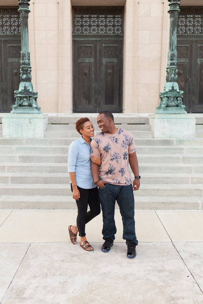 Aminta And Marcus's Engagement Session