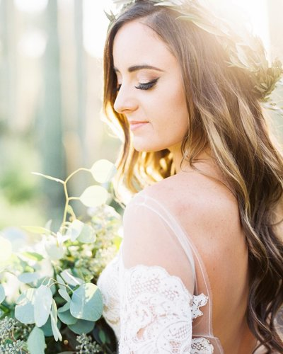 Boho Wedding Gown