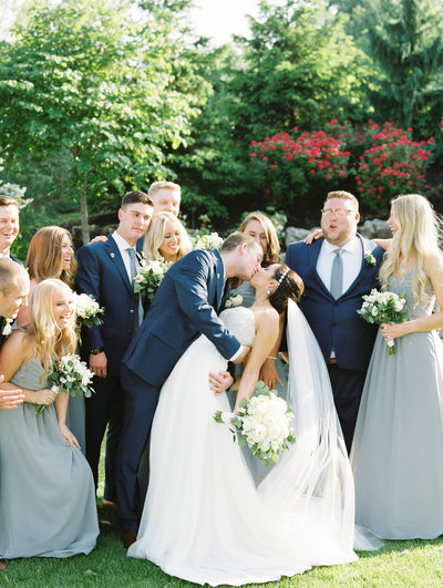 Beautiful Outdoor Oak Meadow Country Club Evansville Wedding by Sharin Shank Photography
