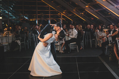 35-Adler-Planetarium-Wedding-first-dance