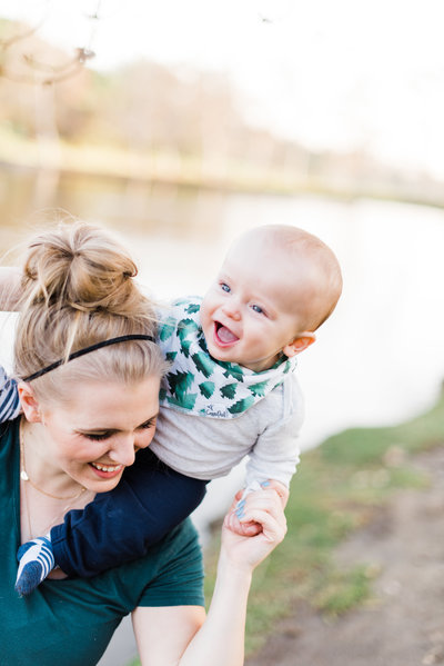 Chelsea Frandsen is a mom and wife. She loves her baby boy.
