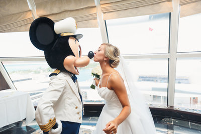 Mickey Gets a Kiss