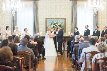 ceremony inside the poinsett club