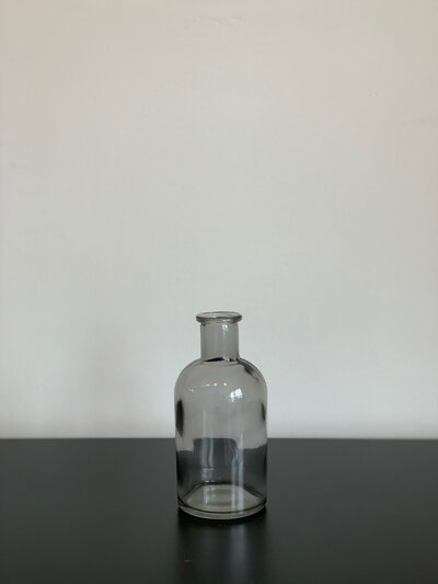 Smoke Glass Bud Vase